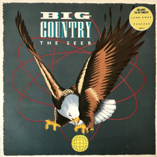 Big Country ‎- The Seer (LP) (VG-/VG-)